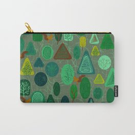 squirrel in forest Carry-All Pouch