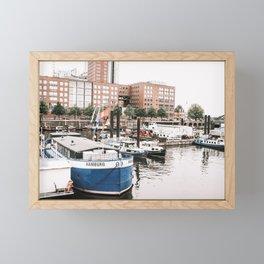 Hamburg Framed Mini Art Print