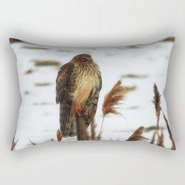 Northern Harrier Rectangular Pillow