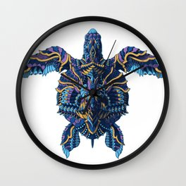 Sea Turtle (Color Version) Wall Clock