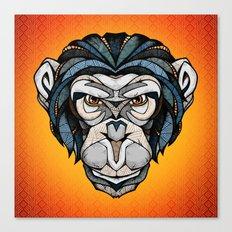 Chimpanzee Canvas Print