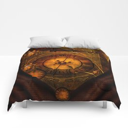 Awesome noble steampunk design Comforters