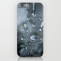 snowflake monochrome iPhone 6s Slim Case