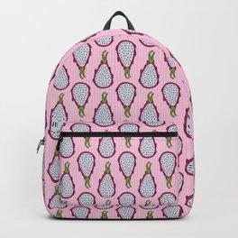 Dragonfruit - Pink Doodle Pattern Backpack