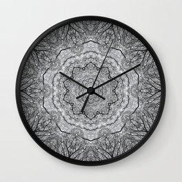 Zen Tree 1 Wall Clock