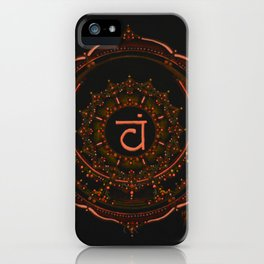 Sacral Chakra iPhone Case