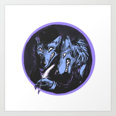 The Big Bad Brothers Grimm Art Print
