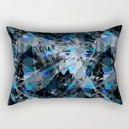 Abstraction. The strokes of paint. 2 Rectangular Pillow