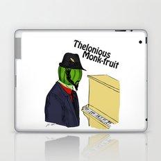 thelonious monk-fruit Laptop & iPad Skin