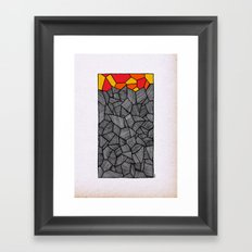 - sun would have a door to the dancefloor - Framed Art Print