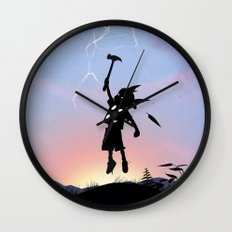 Thor Kid Wall Clock