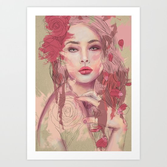 Petals and Thorns Art Print