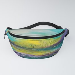 Sunset in Teal Fanny Pack