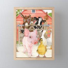 The Farm Framed Mini Art Print