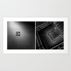 In/Out Art Print