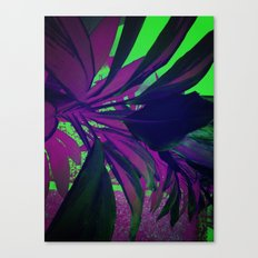 Behind the foliage Canvas Print