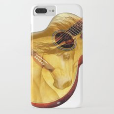 The guitar is a lady Slim Case iPhone 7 Plus
