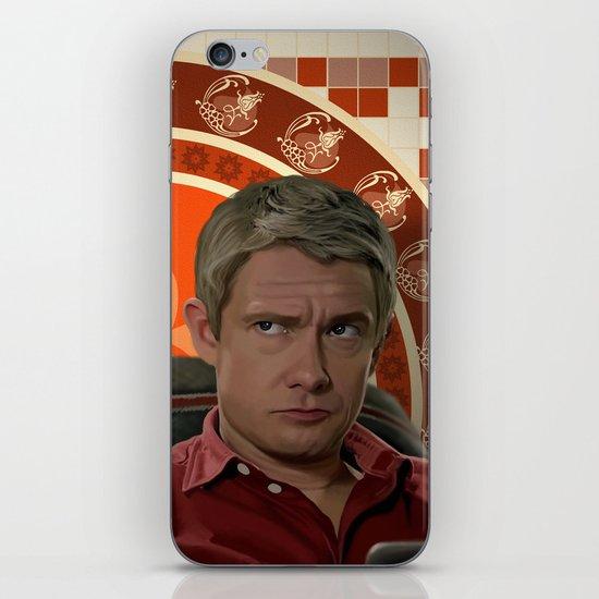 Living with Sherlock Holmes iPhone & iPod Skin