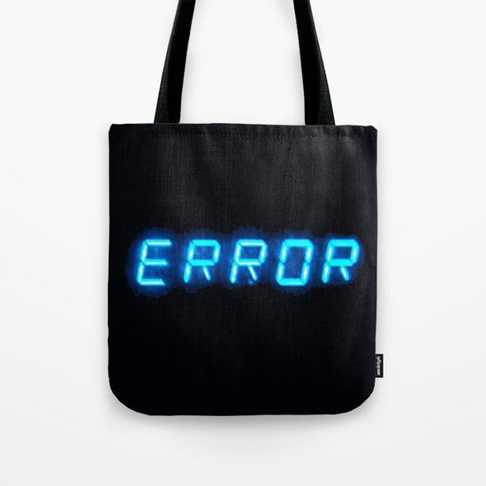 ERRORTRUTH Tote Bag