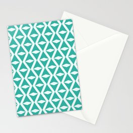 Organic geometry pattern Stationery Cards
