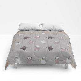 Wiggly Sloths Comforters