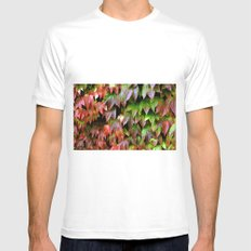 Virginia Creeper SMALL White Mens Fitted Tee