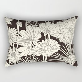 Flower Clean Rectangular Pillow