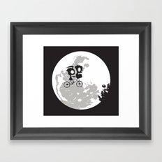 Dib and the E.T Framed Art Print