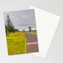 Cycling And Walking Path Stationery Cards