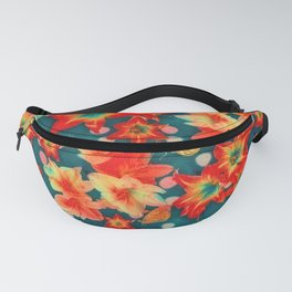 Amaryllis and Butterflies 2 Fanny Pack