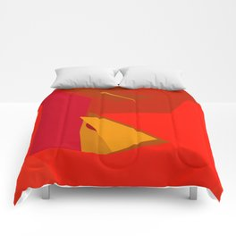 Red Confidence Comforters