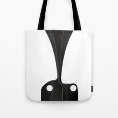 Silhouette Racers - Bugatti Type 57C (Light Version) Tote Bag