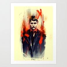Mads Mikkelsen * Hannibal Lecter Art Print