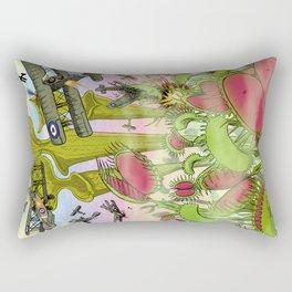 Plants Vs Planes Rectangular Pillow