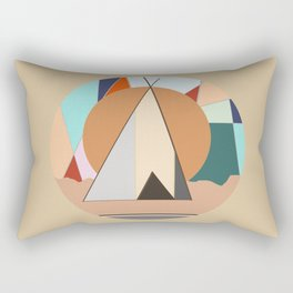 Tipi Rectangular Pillow
