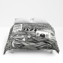 Day of the Dead Comforters