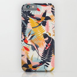 Paradise Birds II. iPhone Case