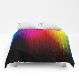 colors rainbow Comforters