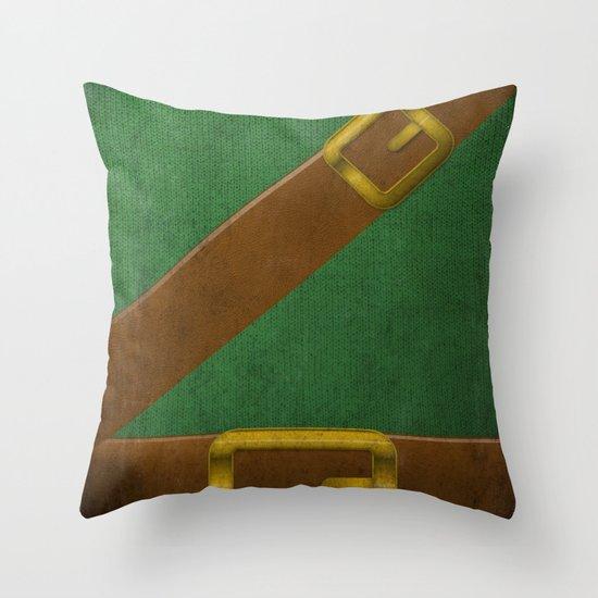 Video Game Poster: Adventurer Throw Pillow