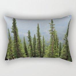 Banff Gondola Photography Rectangular Pillow