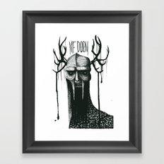 MF DOOMononoke Framed Art Print