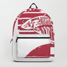 Betta Splendens Retro design I Siamese Fighting Fish Gift Backpack