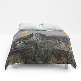 Grey Cats Comforters