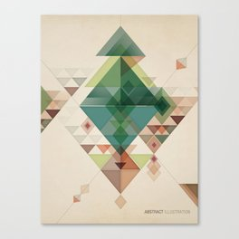 Abstract illustration Canvas Print