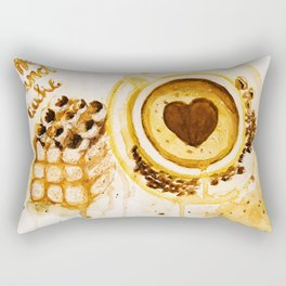 Caffee and cake Rectangular Pillow