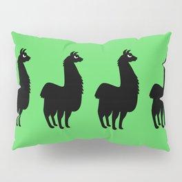 Angry Animals: llama Pillow Sham