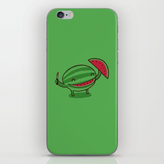 A Happy Slice of Life iPhone & iPod Skin