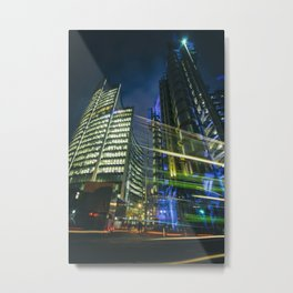 Futuristic Cityscape Metal Print
