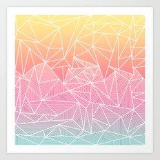 Beeniks Rays Art Print