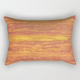 Abstract background orange Rectangular Pillow